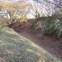 道場台側の空堀