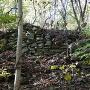 主郭南側石積