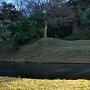 田町門跡の濠と土塁