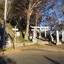 城山神社入口