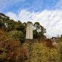 城址碑と期間限定櫓