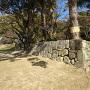 坂谷門跡の石垣