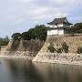 六番櫓と石垣(南東角より)