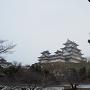 菱ノ門から眺める天守群