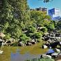 旧徳島城表御殿庭園(北西側)