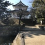 霞門虎口から東櫓
