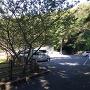 三郭跡と思われる駐車場
