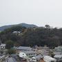 化粧櫓内から眺める男山八幡宮