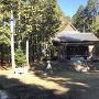 神社 (登城口付近)