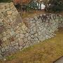 東ノ丸への登り口(東ノ丸から)