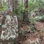石碑「うしろやま城跡」