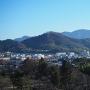 佐和山城跡(天秤櫓内から)