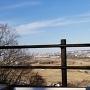眺望  山の神曲輪から