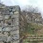 米子城 石垣
