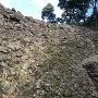 井戸曲輪の石垣