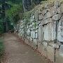 西櫓台の石垣