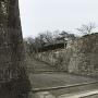 表門からの備中櫓と石垣
