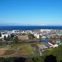 西の丸三重櫓から望む琵琶湖