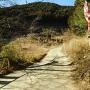 登山道入口(残土置き場)