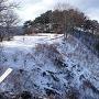 真田氏本城の側面斜面