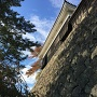 馬溜から中櫓を見上げる