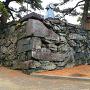 太鼓櫓跡石垣の南面アップ