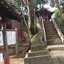 愛宕神社にある大構(総構)跡