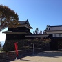 青空と上田城