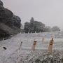 雪の本佐倉城