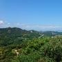 永納山城山頂からの風景