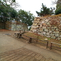 見ノ門跡付近の外側石垣