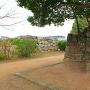 天ノ門跡石垣を東の丸から