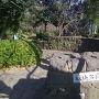 目の前の城山公園
