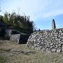 埋門と石垣