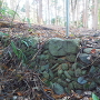 抜け穴跡の石積み