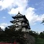 夏の終わりの弘前城