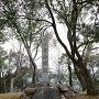 金山城跡石碑