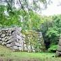 津和野城西櫓門跡