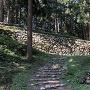 桜馬場の五段石垣