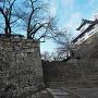 石段から見る備中櫓