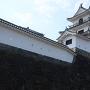 三階櫓(天守閣)北側から