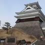 上山城模擬天守(東側から)