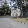 西不明門跡(お堀側から)
