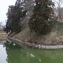 肴町向櫓跡(お堀側から)