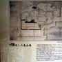 完成した亀山城の案内板