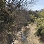 天然の堀(近木川)