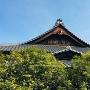披雲閣玄関屋根