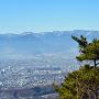 砥石城跡から望む上田市街