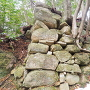 Ⅲ郭西側の石垣