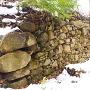 北郭の石垣